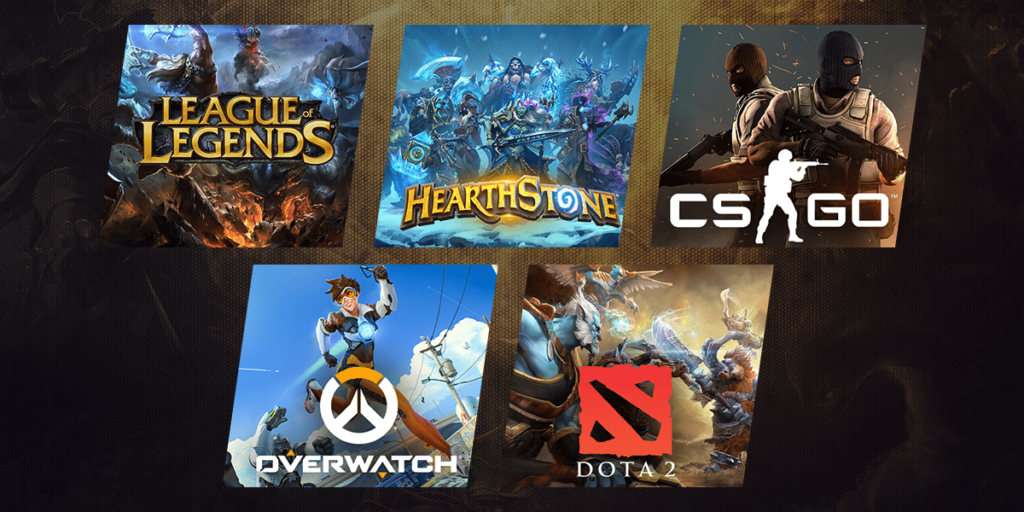 Best eSports games for betting in US