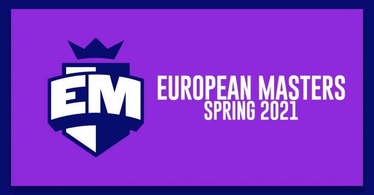 EU Masters 2021 Spring